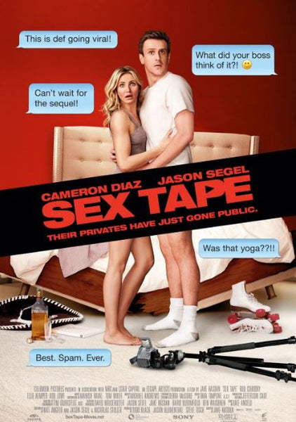 SEX TAPE SD UV ULTRAVIOLET DIGITAL MOVIE CODE