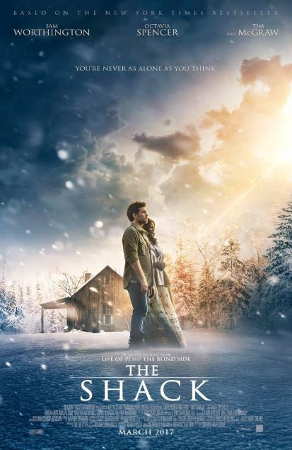 SHACK (THE) HD iTunes DIGITAL COPY MOVIE CODE - MUST HAVE A VALID CANADIAN  iTunes ACCOUNT TO REDEEM