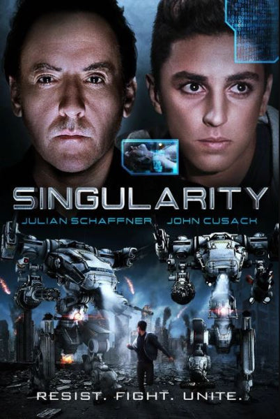SINGULARITY HD GOOGLE PLAY DIGITAL COPY MOVIE CODE - CANADA (USA READ DESCRIPTION FOR REDEMPTION INFO)