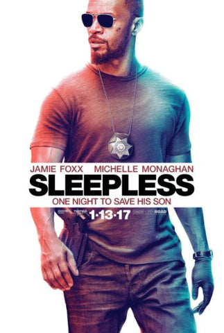 SLEEPLESS HDX UV ULTRAVIOLET DIGITAL MOVIE CODE ONLY - USA