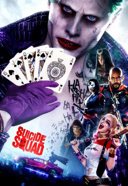 SUICIDE SQUAD HDX UV ULTRAVIOLET DIGITAL MOVIE CODE