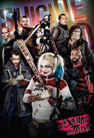 SUICIDE SQUAD (THEATRICAL & EXTENDED INCLUDED) HD GOOGLE PLAY DIGITAL COPY MOVIE CODE (DIRECT INTO GOOGLE PLAY) CANADA