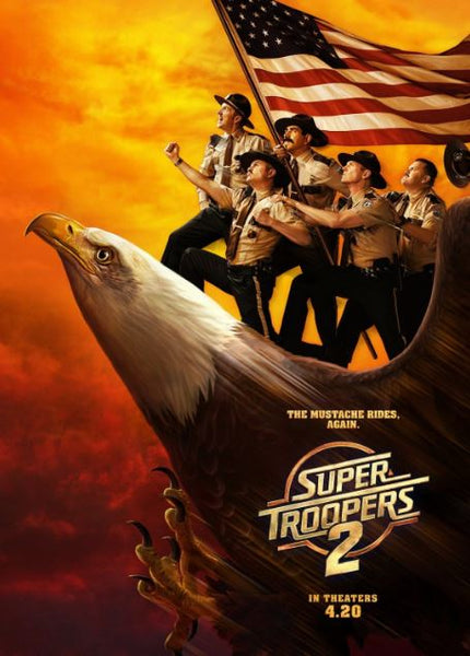 SUPER TROOPERS 2 HD GOOGLE PLAY DIGITAL COPY MOVIE CODE (DIRECT INTO GOOGLE PLAY) CANADA