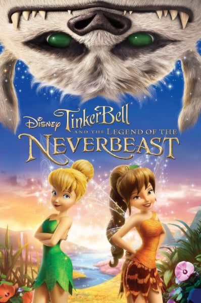 TINKER BELL AND THE LEGEND OF THE NEVERBEAST HD DMA DISNEY MOVIES ANYWHERE or HD DC DIGITAL COPY MOVIE CODE