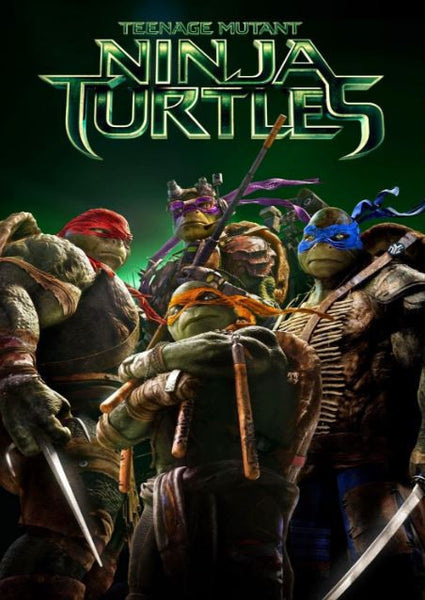 TEENAGE MUTANT NINJA TURTLES HDX UV ULTRAVIOLET DIGITAL MOVIE CODE