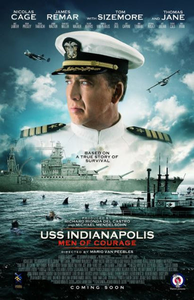 USS INDIANAPOLIS HD iTunes DIGITAL COPY MOVIE CODE