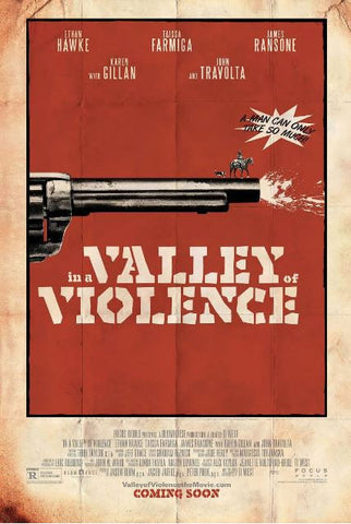 IN A VALLEY OF VIOLENCE HDX UV ULTRAVIOLET DIGITAL MOVIE CODE