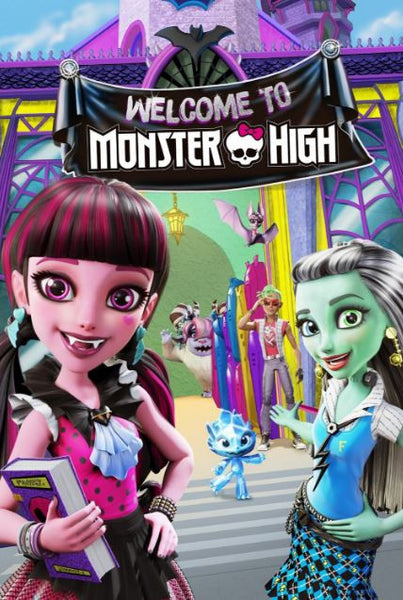 MONSTER HIGH WELCOME TO MONSTER HIGH THE ORIGIN STORY HDX UV ULTRAVIOLET DIGITAL MOVIE CODE