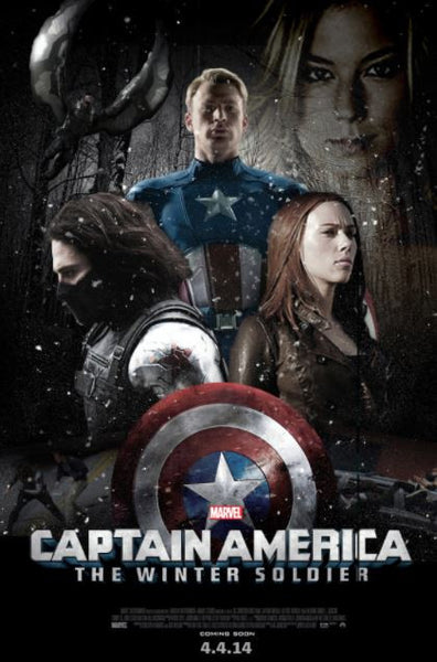CAPTAIN AMERICA THE WINTER SOLDIER DISNEY MARVEL HD DMA or HD DC DIGITAL COPY MOVIE CODE
