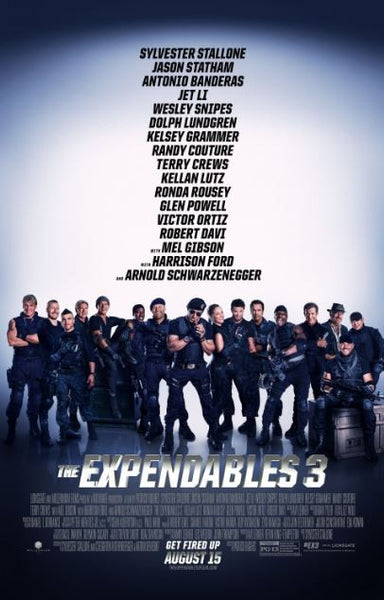 THE EXPENDABLES 3 HD iTunes DIGITAL COPY MOVIE CODE