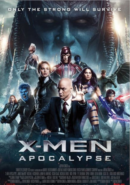X-MEN APOCALYPSE HDX UV ULTRAVIOLET DIGITAL MOVIE CODE or iTunes DIGITAL COPY CODE