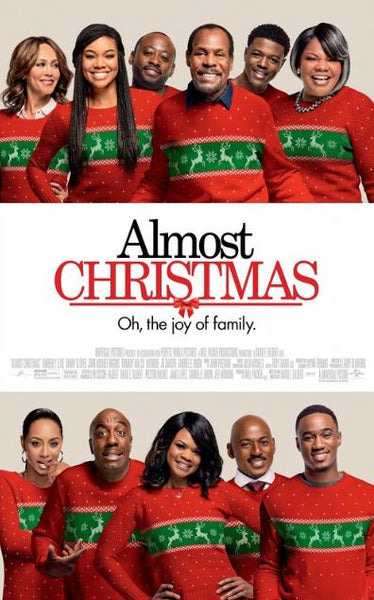 ALMOST CHRISTMAS HD iTunes DIGITAL COPY MOVIE CODE