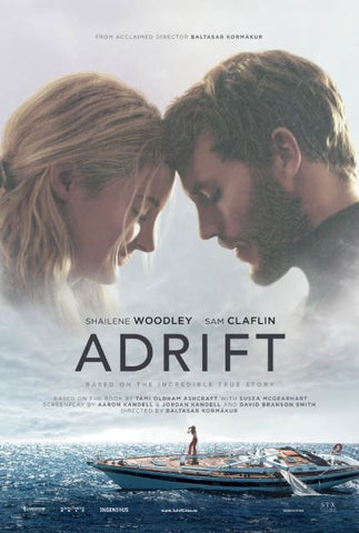 ADRIFT (2018) HD iTunes DIGITAL COPY MOVIE CODE