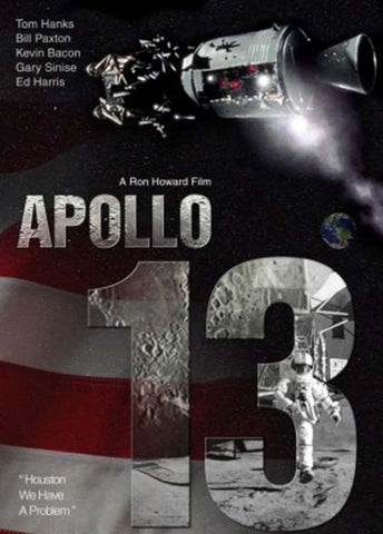 APOLLO 13 HDX UV ULTRAVIOLET DIGITAL MOVIE CODE