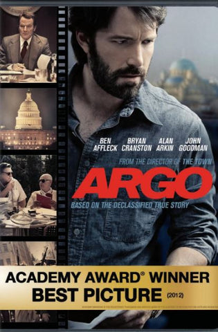 ARGO HDX UV ULTRAVIOLET DIGITAL MOVIE CODE