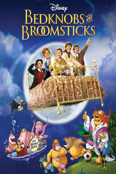 BEDKNOBS AND BROOMSTICKS SPECIAL EDITION HD DMA DISNEY DIGITAL MOVIE CODE
