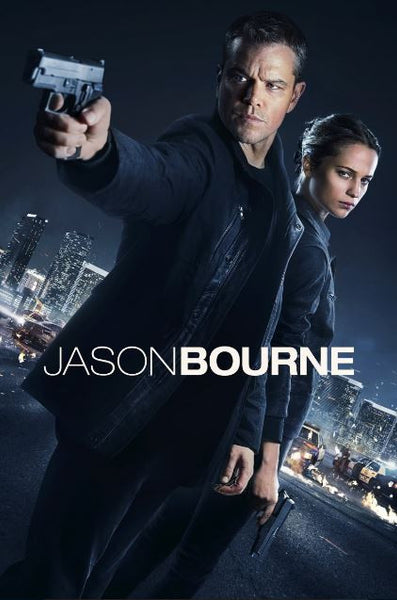 JASON BOURNE HD iTunes DIGITAL COPY MOVIE CODE