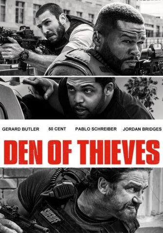 DEN OF THIEVES HD iTunes DIGITAL COPY MOVIE CODE ONLY - USA