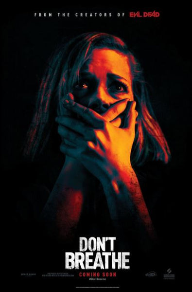 DON'T BREATHE HDX UV ULTRAVIOLET DIGITAL MOVIE CODE