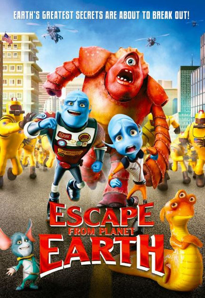ESCAPE FROM PLANET EARTH HD iTunes DIGITAL COPY MOVIE CODE