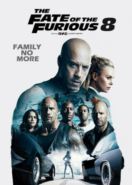 THE FATE OF THE FURIOUS 8 HDX UV ULTRAVIOLET DIGITAL MOVIE CODE ONLY - USA CANADA