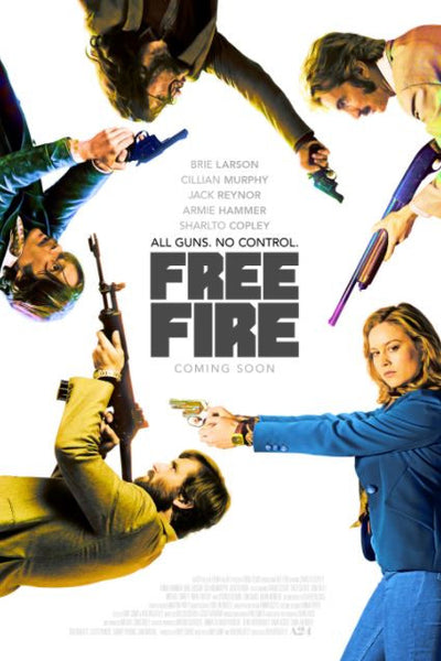 FREE FIRE HD iTunes DIGITAL COPY MOVIE CODE