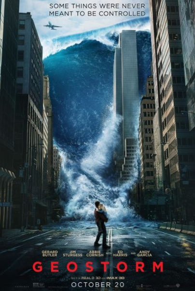 GEOSTORM HDX UV ULTRAVIOLET DIGITAL MOVIE CODE
