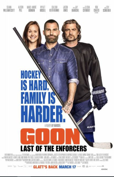 GOON LAST OF THE ENFORCERS HD iTunes DIGITAL COPY MOVIE CODE