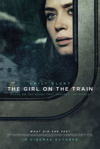 GIRL ON THE TRAIN HDX UV ULTRAVIOLET DIGITAL MOVIE CODE