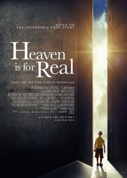 HEAVEN IS FOR REAL HDX UV ULTRAVIOLET DIGITAL MOVIE CODE