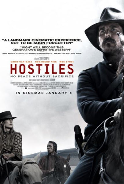 HOSTILES HD iTunes DIGITAL COPY MOVIE CODE