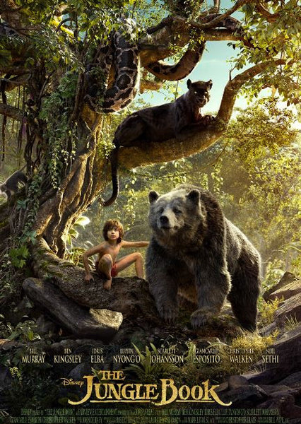 DISNEY THE JUNGLE BOOK (2016) HD DMA DISNEY MOVIES ANYWHERE