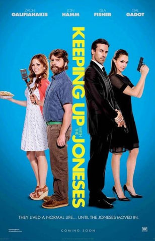 KEEPING UP WITH THE JONESES HD iTunes DIGITAL COPY MOVIE CODE