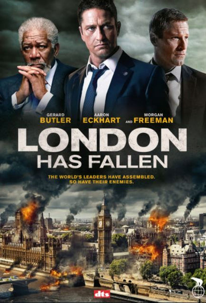 LONDON HAS FALLEN HD iTunes DIGITAL COPY MOVIE CODE ONLY - USA