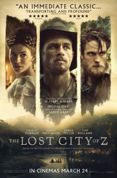 THE LOST CITY OF Z HD iTunes DIGITAL COPY MOVIE CODE