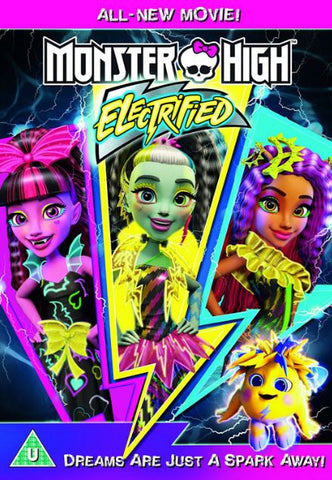 MONSTER HIGH ELECTRIFIED HDX UV ULTRAVIOLET DIGITAL MOVIE CODE ONLY - USA CANADA