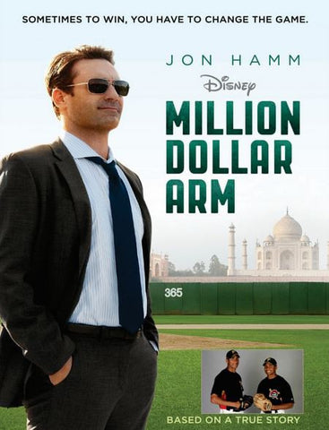 DISNEY MILLION DOLLAR ARM HD DMA DISNEY MOVIES ANYWHERE or HD DC DIGITAL COPY MOVIE CODE