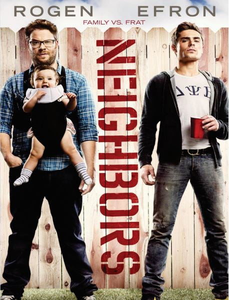 NEIGHBORS 1 HDX VUDU (USA) / HD GOOGLE PLAY (CANADA) DIGITAL COPY MOVIE CODE (READ DESCRIPTION FOR REDEMPTION SITES)