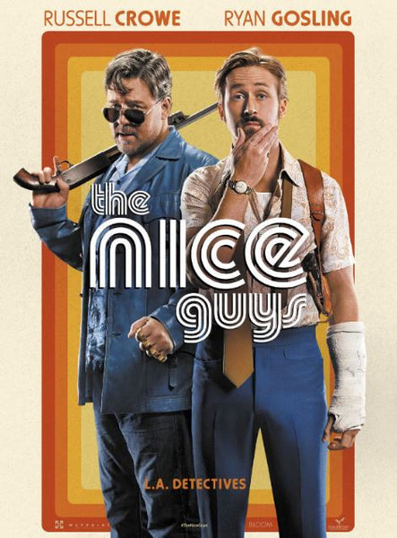 NICE GUYS (THE) HDX UV ULTRAVIOLET DIGITAL MOVIE CODE