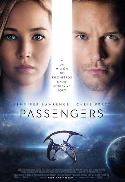 PASSENGERS HDX UV ULTRAVIOLET DIGITAL MOVIE CODE