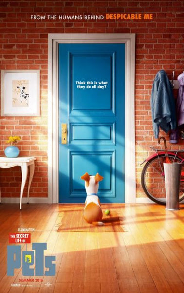 THE SECRET LIFE OF PETS HDX UV ULTRAVIOLET DIGITAL MOVIE CODE