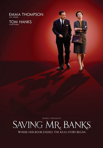 DISNEY SAVING MR BANKS HD DMA DISNEY MOVIES ANYWHERE OR HD DC DIGITAL COPY MOVIE CODE