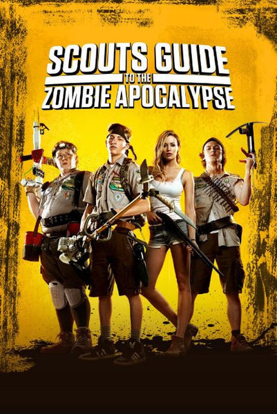 SCOUTS GUIDE TO THE ZOMBIE APOCALYPSE HD iTunes DIGITAL COPY MOVIE CODE