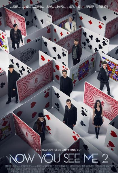 NOW YOU SEE ME 2 HD iTunes DIGITAL COPY MOVIE CODE