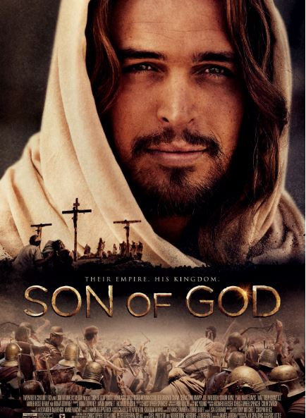 SON OF GOD HDX UV ULTRAVIOLET DIGITAL MOVIE CODE