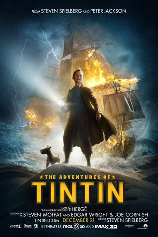 ADVENTURES OF TINTIN (THE) HD iTunes DIGITAL COPY MOVIE CODE ONLY (DIRECT INTO ITUNES) USA CANADA