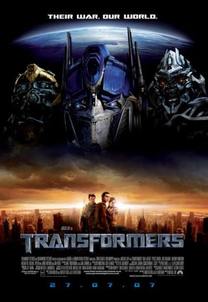 TRANSFORMERS 1 HD iTunes DIGITAL COPY MOVIE CODE ONLY - USA CANADA