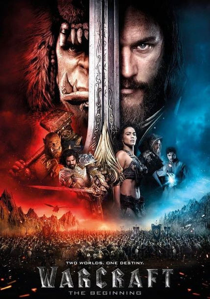 WARCRAFT THE BEGINNING HDX UV ULTRAVIOLET DIGITAL MOVIE CODE