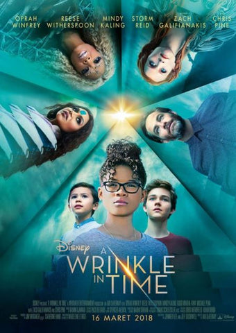 A WRINKLE IN TIME HD DISNEY DIGITAL MOVIE CODE