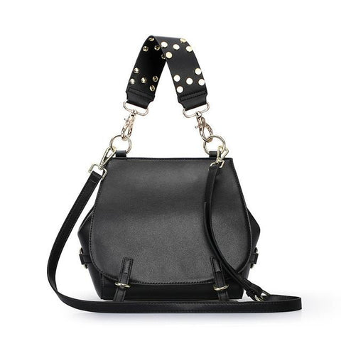 Luxury Women's Leather Crossbody Handbag Purse - Enchanted Mistress